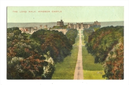 Cp, Angleterre, Windsor Castle, The Long Walk