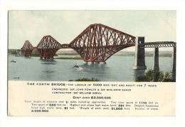 Cp, Angleterre, Ecosse, The Forth Bridge - Fife
