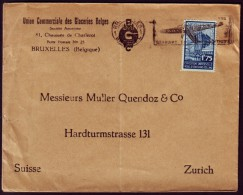 Belgie - Brief Met Nr 389 - Sloganstempel LUCHTPOST - FDC