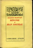 Jean Cocteau  2 Volumes Lettre A Jacques Maritain Et Reponse De Jean Cocteau  Stock - Auteurs Classiques