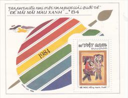 Vietnam1988 Children Paintings Mini Sheet MNH - Viêt-Nam
