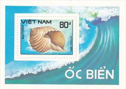 Vietnam1988 Shells Mini Sheet MNH - Vietnam