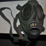 Masque à Gaz WWII Sans Cartouche Taille 2 - 1939-45