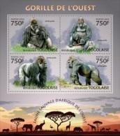 Togo. 2013 Gorillas. (209a) - Gorilla's