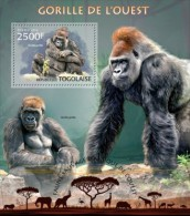 Togo. 2013 Gorillas. (209b) - Gorilla's
