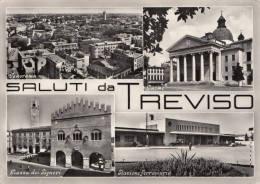 C1960 SALUTI DA TREVISO  VEDUTINE - Treviso