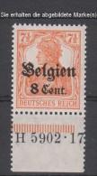 Belgien,13bI,5902.17,xx  (3571) - Besetzungen 1914-18