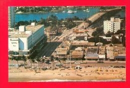 U.S.A.  FLORIDA  -  FORT LAUDERDALE  - 79-36 Las Olas Boulevard Looking Toward The Inland Waterway  And Bridge  ( 1985 ) - Fort Lauderdale