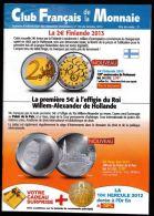 Catalogue Club Français De La Monnaie Octobre 2013 N° 170 - French