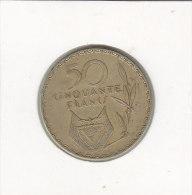 50 FRANCS 1977 A - Rwanda