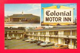 U.S.A.  GEORGIA  -  ATHENS  -  97787  Colonial Motor Inn  ( Cars ) - Etats-Unis
