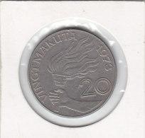 20 MAKUTA Cupro-nickel 1973 - Zaïre (1971-97)