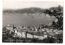 LERICI (La Spezia) - PANORAMA -   NON VIAGGIATA - La Spezia