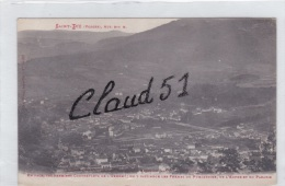 SAINT DIE (88) En Face ,les Premiers Contreforts De L'Ormont:on Y Distingue Les Fermes Du Purgatoire,de L'enfer ,du Para - Saint Die