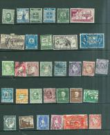 Irlande Lot De 32 Timbres Yvert Entre N°55 ET N°108    Tout état  - Au3707 - 1922-37 Stato Libero D'Irlanda