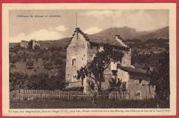Conserves Saxon, Doxa / Anc. Carte Châteaux De Mussot Et Venthône / Oblit. Genève 7.V.1920 - VS Valais