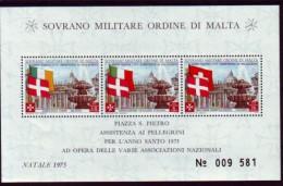 SMOM - Ordine Di Malta 1975 - Timbres