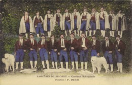 65- BAGNERES De BIGORRE-Chanteurs Montagnards- Direction F.Dabat. - Bagneres De Bigorre