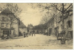 Carte Postale Ancienne Rignac - Rue De La Promenade. Quartier Bas - Autres Communes