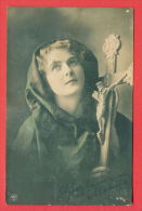134562 /  1910 SOFIA BULGARIA , CROSS VEILING VEIL Widow Veuvage Witwer Woman Femme Frau - K&Co 672/2 - Femmes