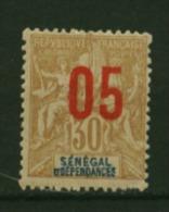 Sénégal  N° 49  Neuf * Luxe   Cote Y&T  1,60  €uro  Au Quart De Cote - Unused Stamps