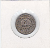 3 PENCE Cupro-nickel BRITISH WEST AFRICA 1938 - Colonie