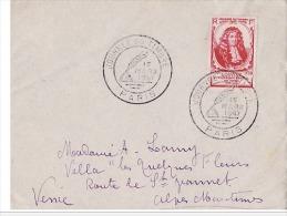 FDC JOURNEE DU TIMBRE PARIS 18 Mars 1947 . - FDC