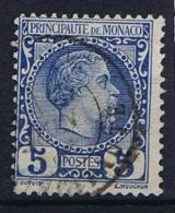Monaco: 1885 Mi. Nr 3 Used - Monaco