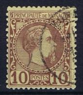 Monaco: 1885 Mi. Nr 4 Used SIGNED - Monaco