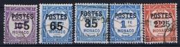 Monaco: 1937 Mi. Nr 149 - 162 Used Part Of Set - Monaco