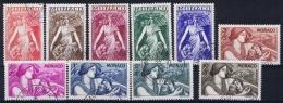 Monaco: 1941 Mi. Nr  247 - 256  Used  215 - 224 - Monaco