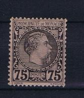 Monaco: 1885 Mi. Nr  8 MH/* - Monaco