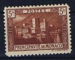 Monaco: 1922 Mi. Nr  62  MH/* - Monaco