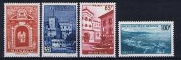 Monaco: 1959 Mi. Nr  618 - 621 MNH/**  529  - 532 - Monaco