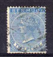 Bermuda - 1877 - Two Pence Definitive (Watermark Crown CC) - Used - Bermudes