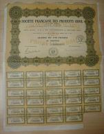 Certificat  Fractionnaire Ropyaume De Roumanie 50 Francs 1934 - Industrie