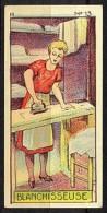 CHROMOS INSTRUCTIFS (1933) - H 13 - BLANCHISSEUSE - Jacques