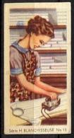 CHROMOS INSTRUCTIFS (1934) - H 13 - BLANCHISSEUSE - Jacques