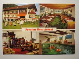 "(3/7/54) AK ""Pfronten-Dorf"" Pension Haus Achtal - Pfronten"