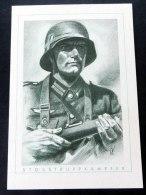 """""""Stosstruppkämpfer"""" Aus Der Reihe """"Der Deutsche Soldat"""", Ungebrauchte Karte - Deutschland"""