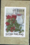 Finlandia Finland 2003 Lingonberry Self Adhesive Stamp - Mirtilli Rossi  1v ** MNH Complete Set - Unused Stamps
