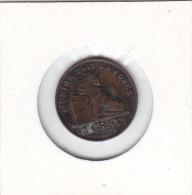 2 CENTIMES Cuivre Albert 1912 FR - 02. 2 Centimes