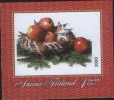 Finlandia Finland 2003 Personalised Stamp Apple Basket Self Adhesive Stamp - Cupido  1v ** MNH Complete Set - Unused Stamps