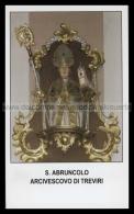 Xsa-12174 S. San ABRUNCOLO ARCIVESCOVO DI TREVIRI APRUNCULO SPRINGIERSBACH Santino Holy Card - Religion & Esotericism