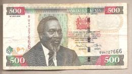 Kenya -  Banconota Circolata Da 500 Scellini P-50e - 2010 - Kenia