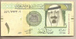 Arabia Saudita -  Banconota Circolata Da 1 Riyal - 2009 - Arabia Saudita