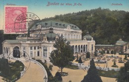 CPA - Baden Bei Wien - Jrinkhalle - Baden Bei Wien