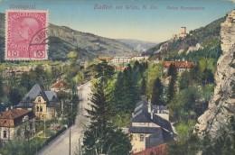 CPA - Baden Bei Wien -  Ruine Rauthenstein - Baden Bei Wien