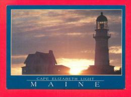 U.S.A.  MAINE  -  PORTLAND  -  4716  Cape Elisabeth Light - Portland