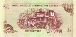 BOUTHAN - 5 Ngultrum 2006 UNC - Bhoutan